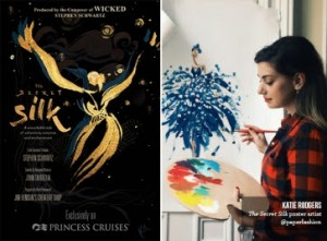 "Princess Cruises revealed ""The Secret Silk"""