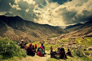 Village-in-Nepal