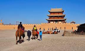Tourism Festival in Jiayuguan, China