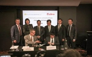 Vietnam Airlines partnership with Sabre
