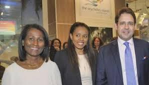 Seychelles tourism board team